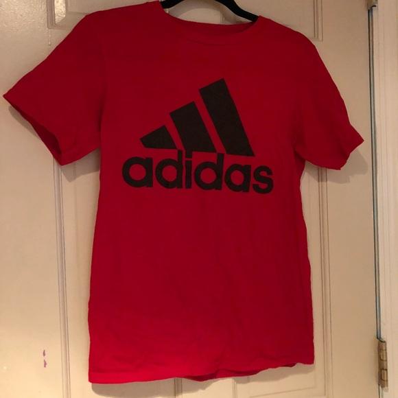 adidas Tops - Red adidas t shirt women s Small cbb83e2bc1